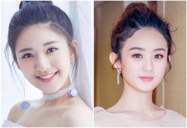 赵露思(左)